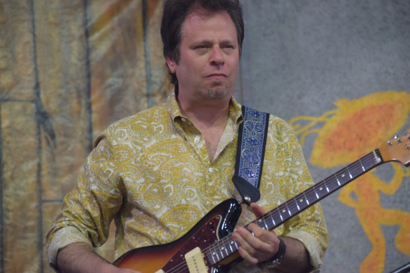 Dave Specter performing at the 2018 New Orleans Jazz & Heritage Festival (photo by Joel A. Siegel)