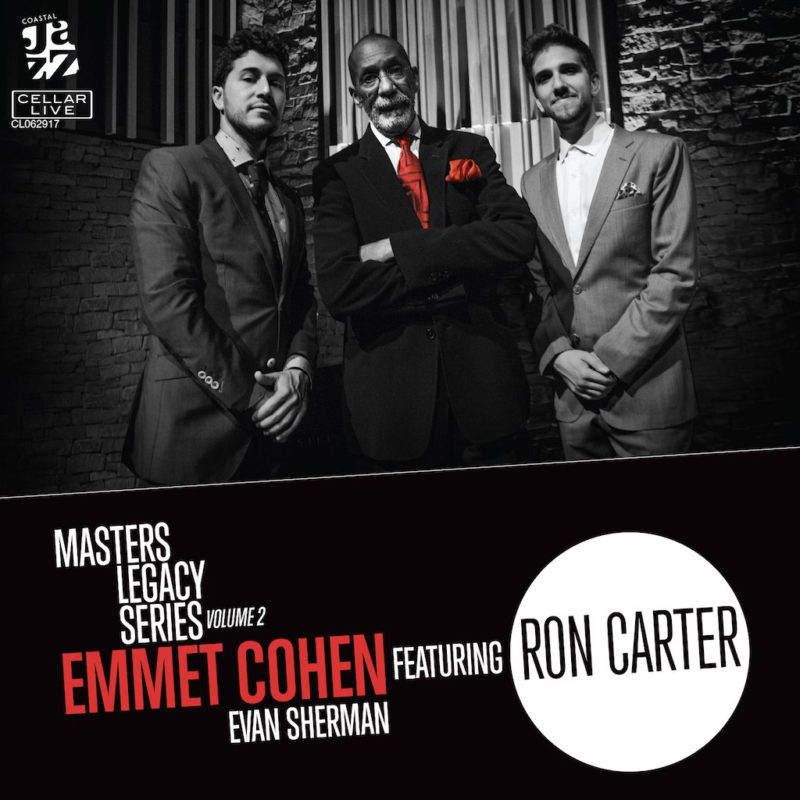 Cover of Emmet Cohen album Masters Legacy Series, Vol. 2 Featuring Ron Carter