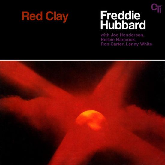 Cover of Freddie Hubbard album Red Clay