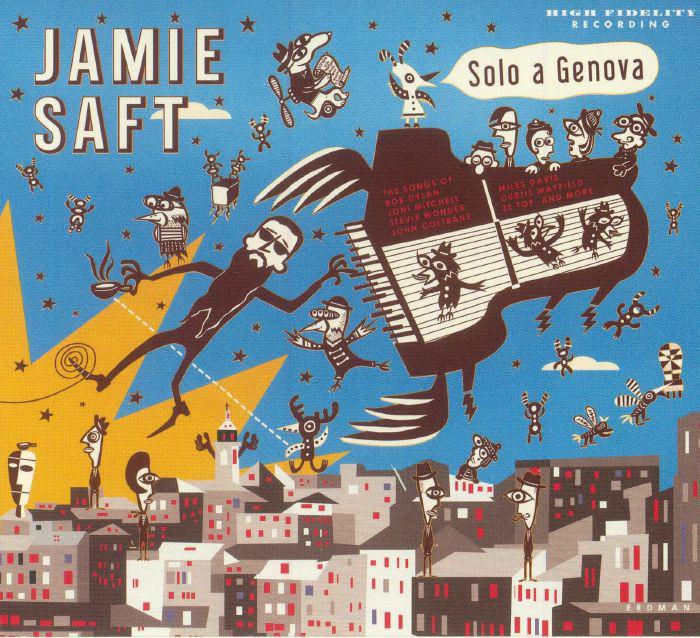 Cover of Jamie Saft album Solo a Genova