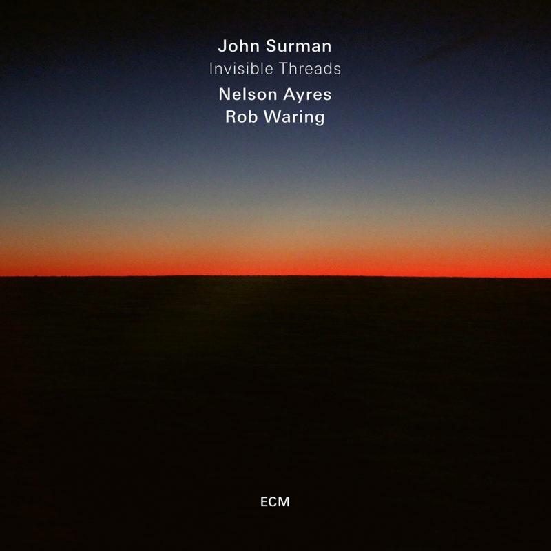 Cover of John Surman album Invisible Threads on ECM