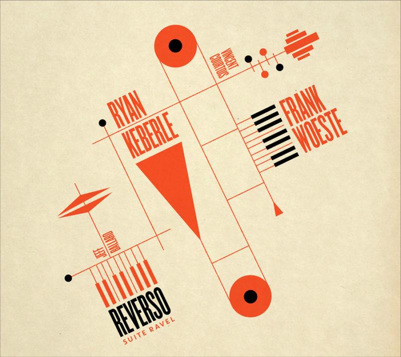 Cover of Ryan Keberle & Frank Woeste album Reverso – Suite Ravel