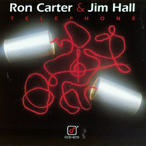 Cover of Ron Carter and Jim Hall album Telephone