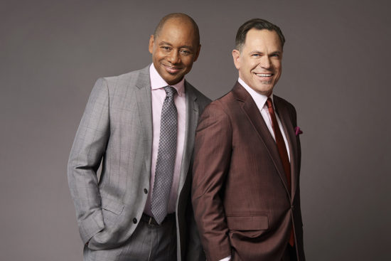 Branford Marsalis and Kurt Elling (photo by Palma Kolansky)