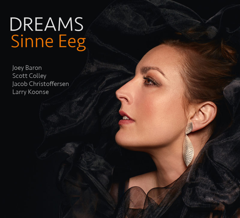 Cover of Sinne Eeg album Dreams on ArtistShare