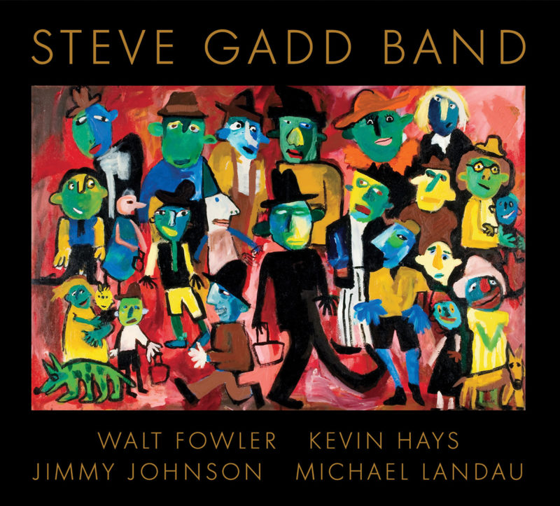 Cover of Steve Gadd Band album on BFM