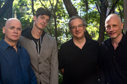 Throw a Glass: Mark Helias, Ches Smith, Uri Caine, and Erik Friedlander