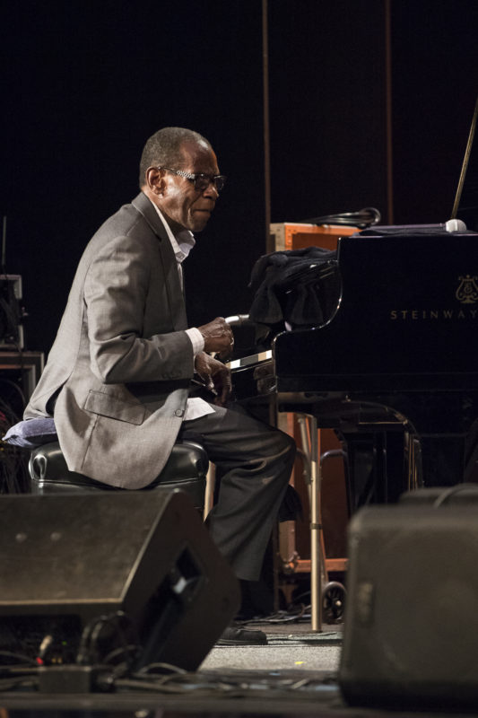 George Cables at the 2018 Healdsburg Jazz Festival (photo: George B. Wells)
