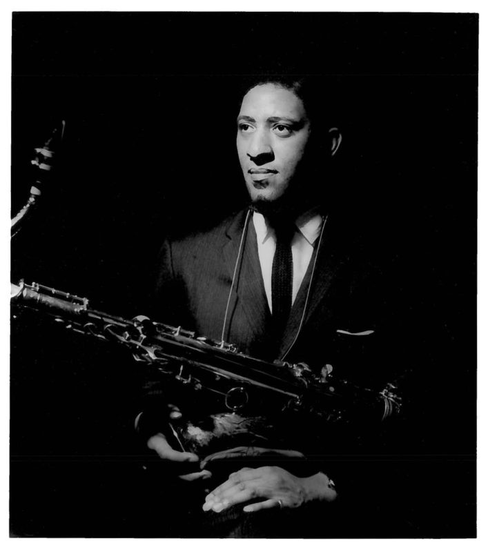 Sonny Rollins, circa 1960, three years after Way Out West was recorded (Photo by Burt Goldblatt, c/o Craft Records)