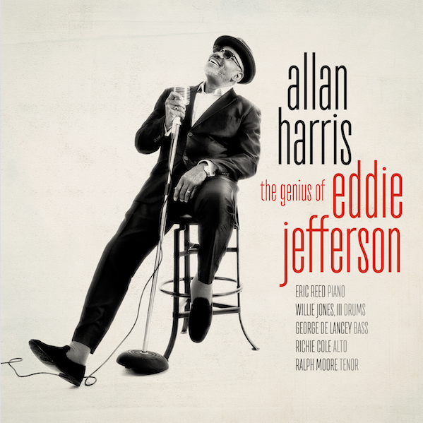 Cover of Allan Harris album The Genius of Eddie Jefferson