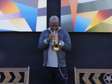 Terence Blanchard leader of the E-Collective (photo by Henry Adebonojo)