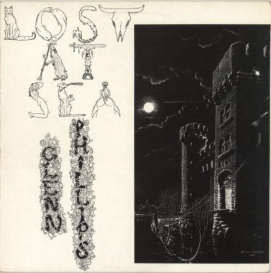 Cover of Glenn Phillips album Lost at Sea