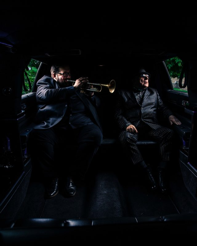 Joey DeFrancesco and Van Morrison (photo by Richard Wade)