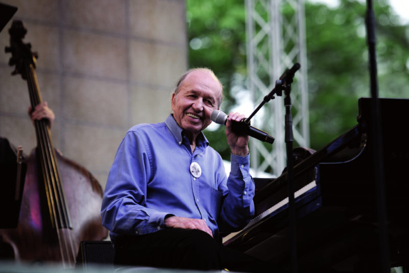 Bob Dorough (photo: Garth Woods)