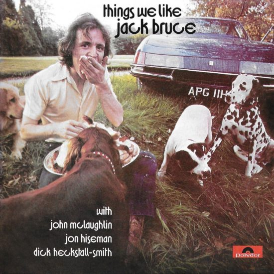 Cover of Jack Bruce album Things We Like