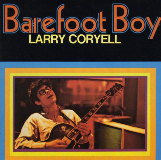 Cover of Larry Coryell album Barefoot Boy