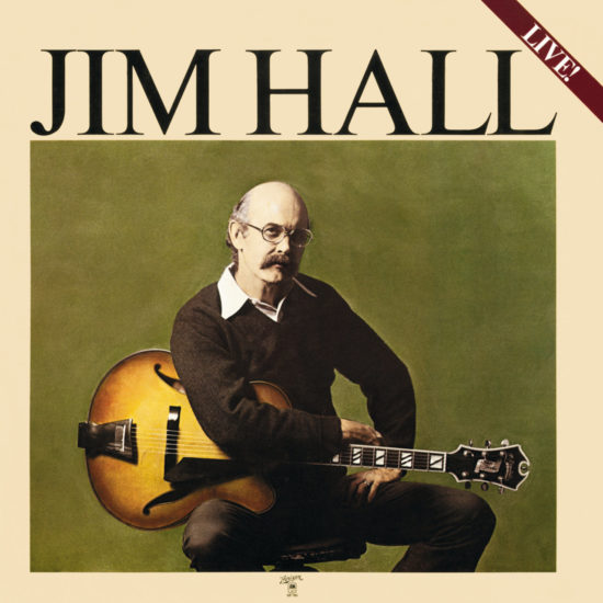 Cover of Jim Hall album Live!