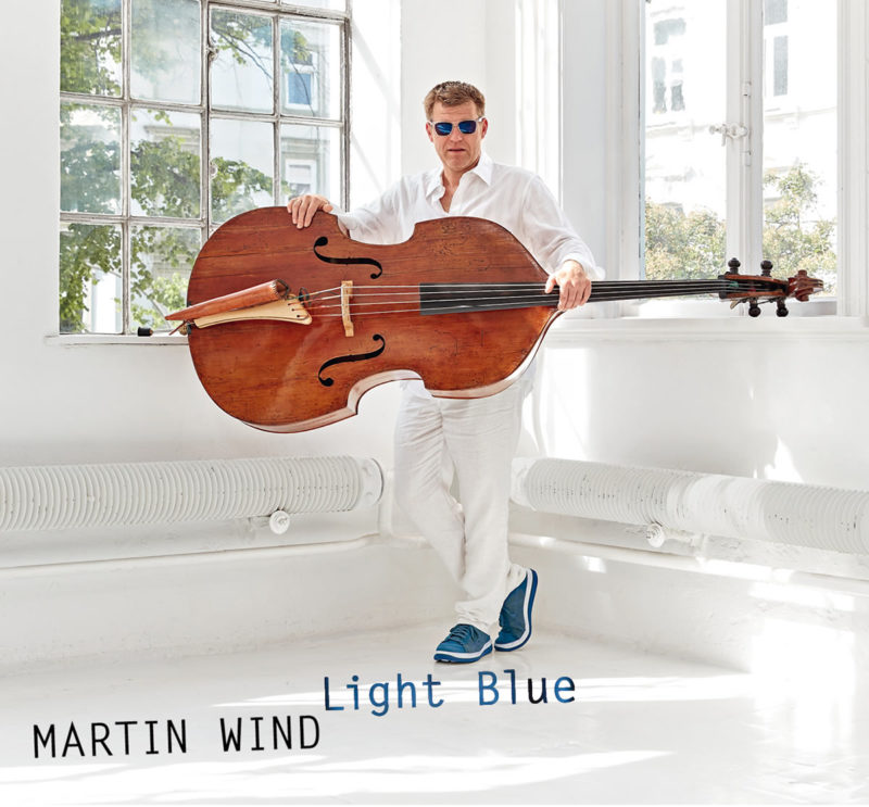 Cover of Martin Wind album Light Blue on Laika