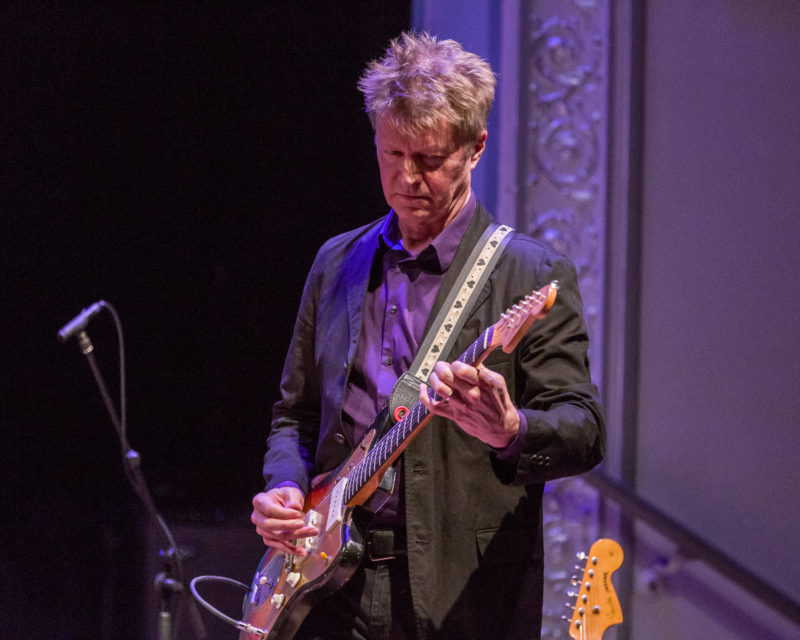 Nels Cline playing a Fender Jazzmaster (photo by Scott Friedlander)