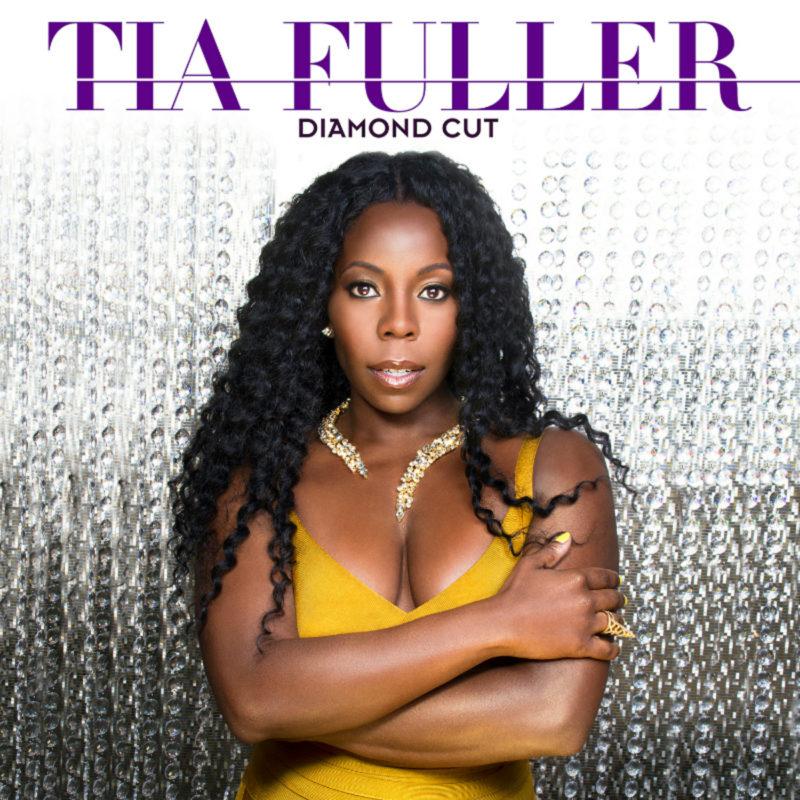 Cover of Tia Fuller album Diamond Cut on Mack Avenue