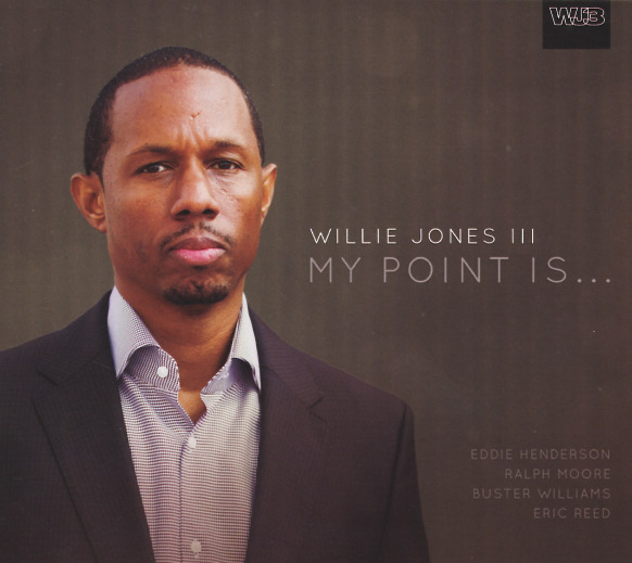 Cover of Willie Jones III album My Point Is… on WJ3