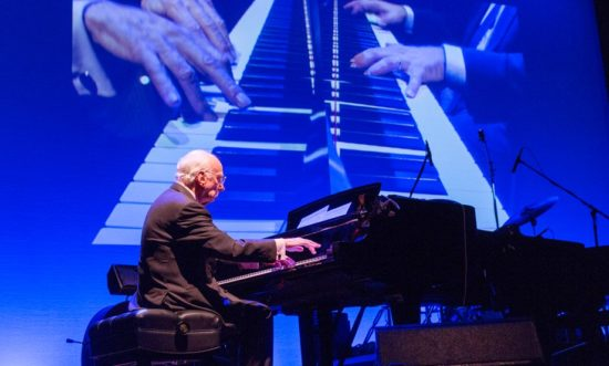 Dick Hyman performing in Jazz in July concert series at 92nd Street Y in New York City (photo c/o 92nd Street Y)