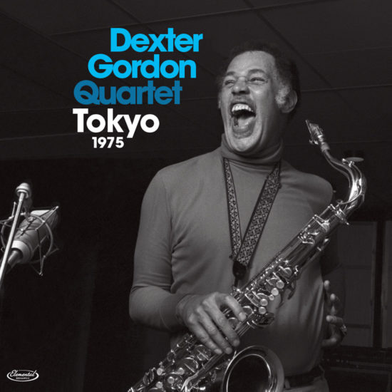 "Dexter Gordon Quartet ""Tokyo 1975"" cover"