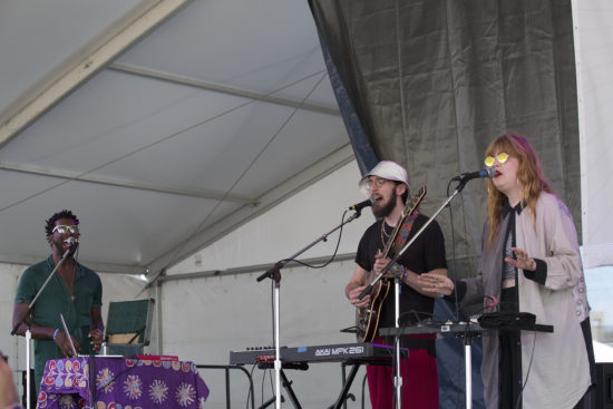 Sonnymoon at the 2018 Newport Jazz Festival