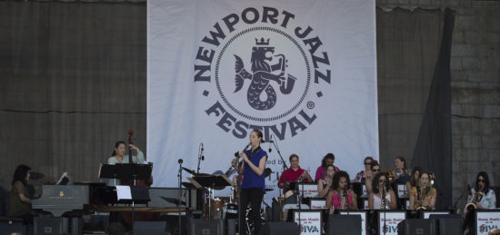 The DIVA Jazz Orchestra at the 2018 Newport Jazz Festival