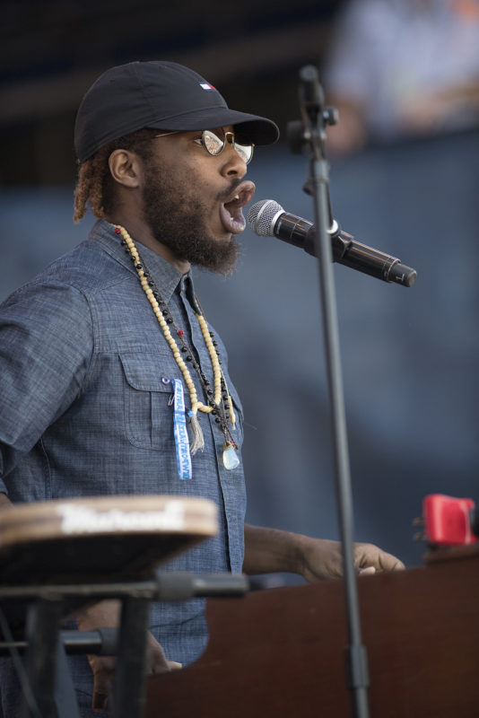 Cory Henry at the 2018 Newport Jazz Festival