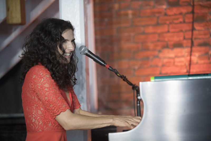 Laila Biali at the 2018 Newport Jazz Festival