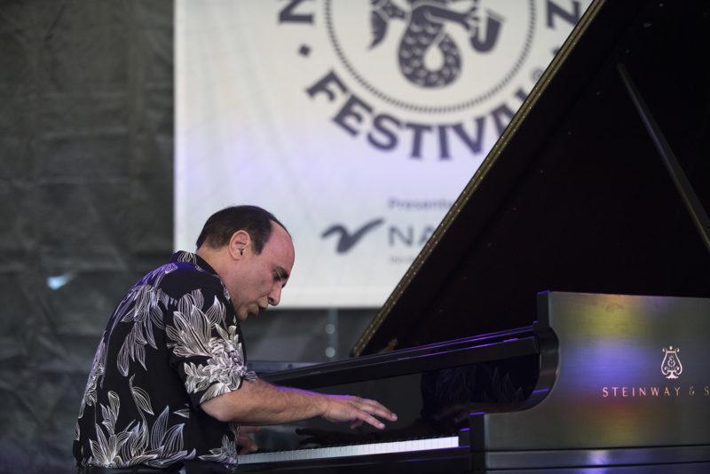 Michel Camilo at the 2018 Newport Jazz Festiva