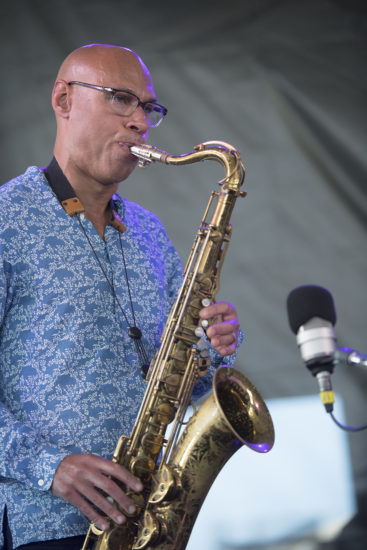Joshua Redman at the 2018 Newport Jazz Festival