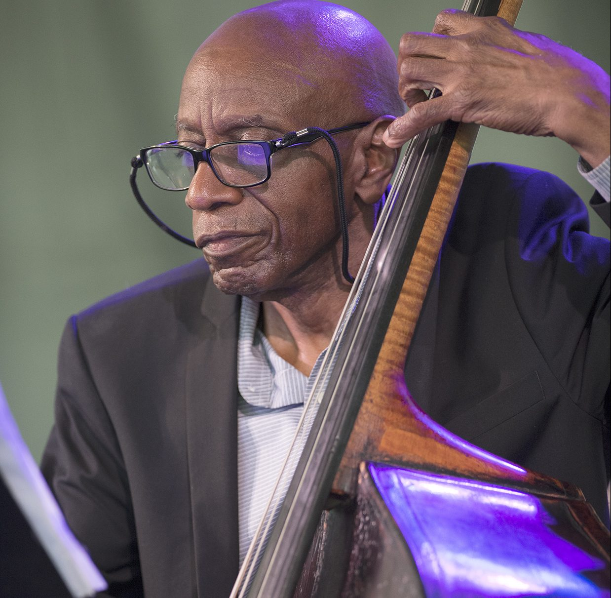 Reggie Workman at the 2018 Newport Jazz Festival