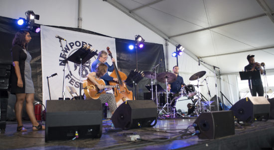 Mary Halvorson's Code Girl at the 2018 Newport Jazz Festival