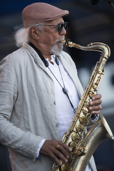 Charles Lloyd at the 2018 Newport Jazz Festival