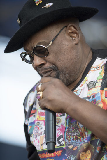 George Clinton at the 2018 Newport Jazz Festival