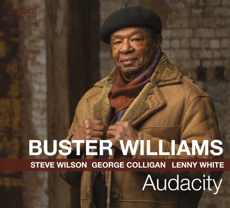 Cover of Buster Williams' album Audacity