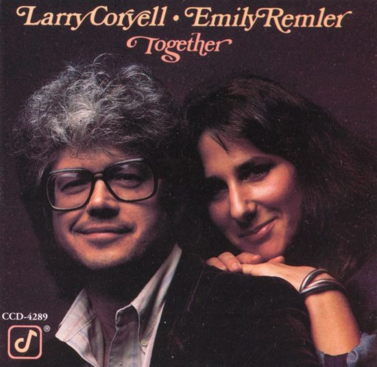 "Cover of Larry Coryell and Emily Remler album ""Together"""
