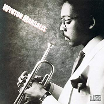 Cover of Wynton Marsalis' self-titled debut album (1982)