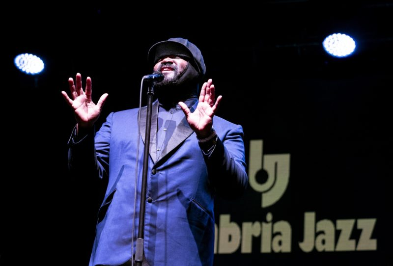 Gregory Porter at the 45th Umbria Jazz Festival