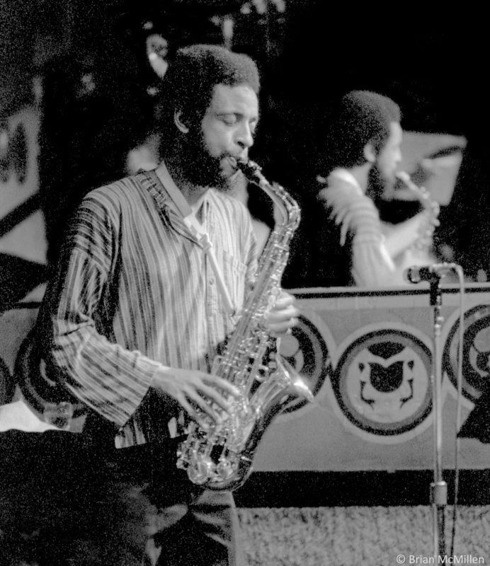 Henry Threadgill at Keystone Korner in San Francisco, April 1979