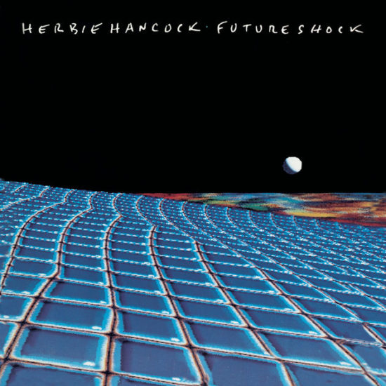 "Cover of Herbie Hancock's album ""Future Shock"" (1983)"