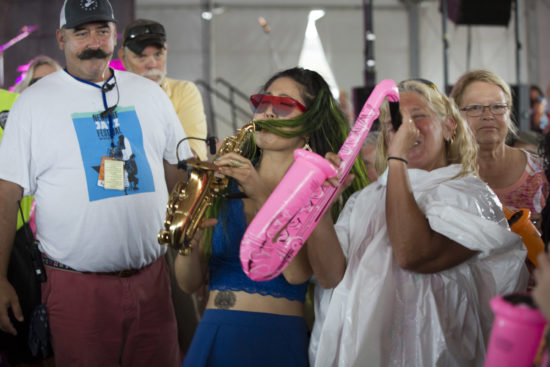 Grace Kelly and friends at the 2018 Newport Jazz Festival