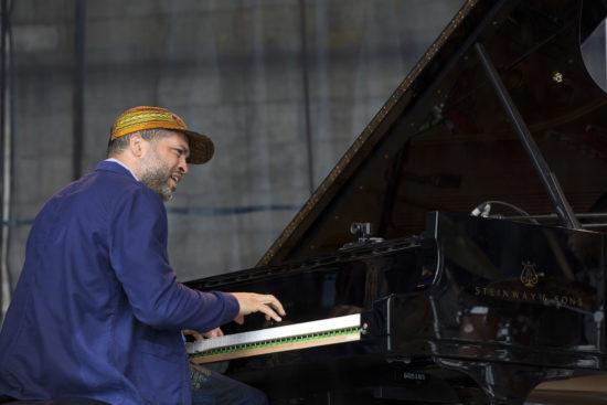 Jason Moran at the 2018 Newport Jazz Festival