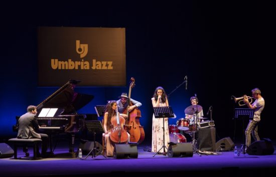 Lumina at the 45th Umbria Jazz Festival