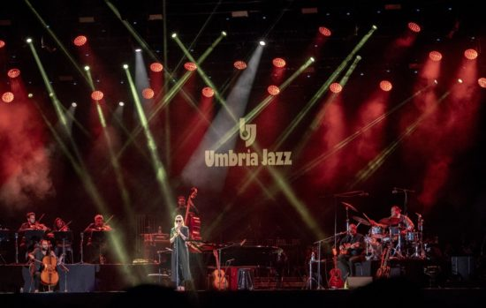 Melody Gardot at the 45th Umbria Jazz Festival