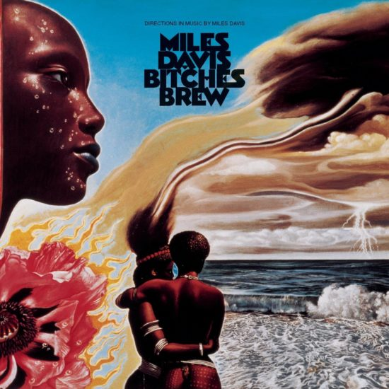 "Cover of Miles Davis' album ""Bitches Brew"""