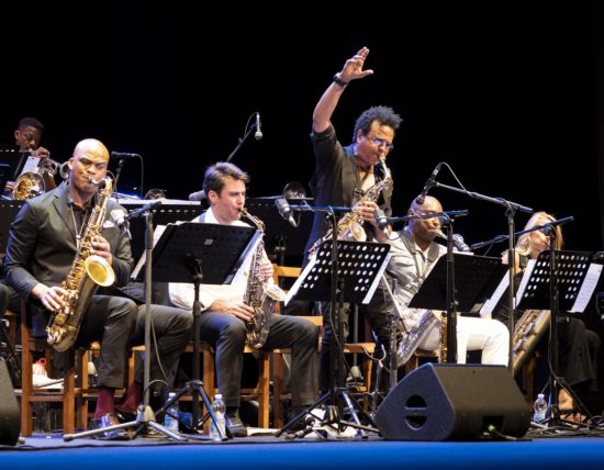 The Mingus Big Band at the 45th Umbria Jazz Festival