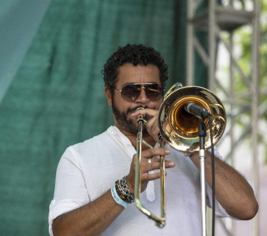 Doug Beavers at the 2018 San Jose Jazz Summerfest